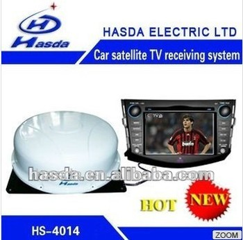 RV Satellite TV Receiving System