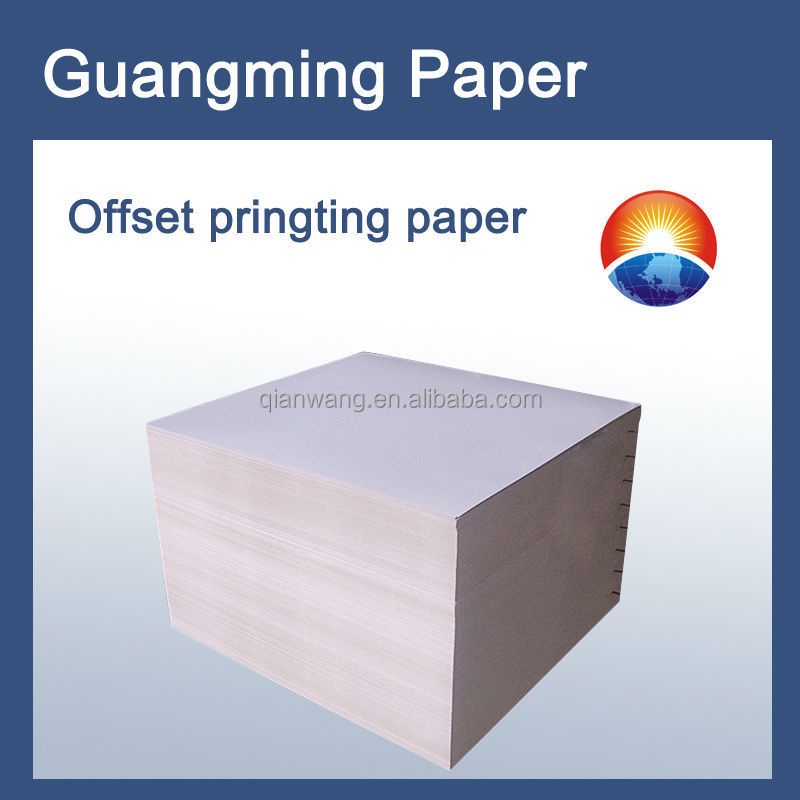 60gsm offset printing paper /woodfree offset printing paper