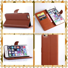 Hot Products Lychee material Book Styles Leather Case For samsung s5 Neo