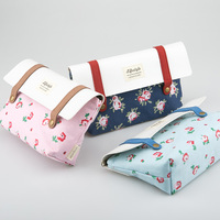 Languo canvas lady fancy cosmetic bag