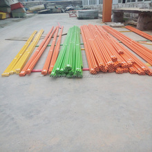 Hot Selling Rich Color UV Resistant fiberglass rod for tent outdoor