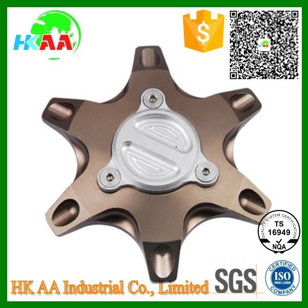 TS16949 approved aluminum cnc machined motorcycle fuel tank cap for racing motorcycle components