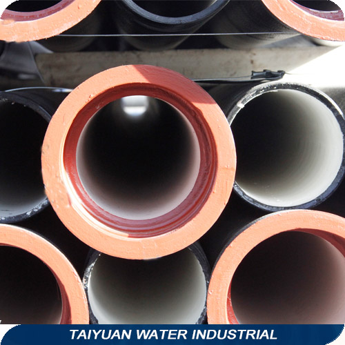 Epoxy Coated Centrifugal Ductile Iron Socket Spigot Pipe K9