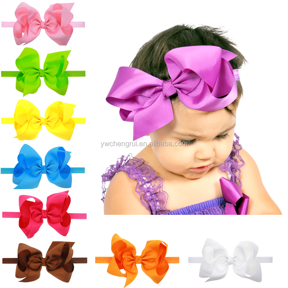 6 inch Extra large hair bow WITH clips Children Girl Hairbows Teens hair bow Boutique bows Hairpins Hair accessories