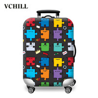 Most popular colorful hard shell luggage with good quality