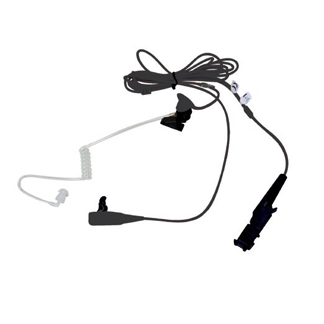 PMLN5724 (BLACK) / PMLN5726 (BEIGE) 2-WIRE SURVEILLANCE EARPIECES WITH COMBINED MIC/PTT for XPR3000