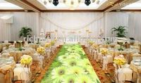 Magic Interactive floor system for special wedding favors with Advertising Equipment