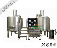 Steam heated used 10 bbl brewing system for sale