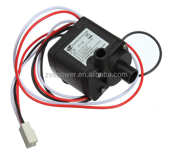 12V DC brushless small computer cooling water pump submersible pump