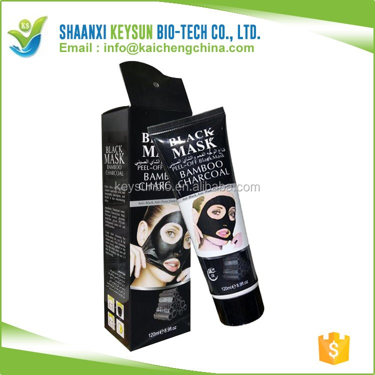Bamboo Charcoal Face Black Mask Remove Blackhead Nose Peel Off Mask