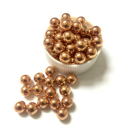 "5/16"" solid copper sphere ball sale"