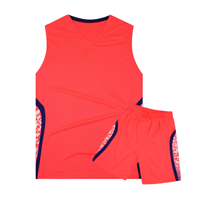 Latest basketball jersey design 2017 orange color blank jersey sublimated printing cheap