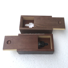 custom slid cover painting wood essential oil packing box