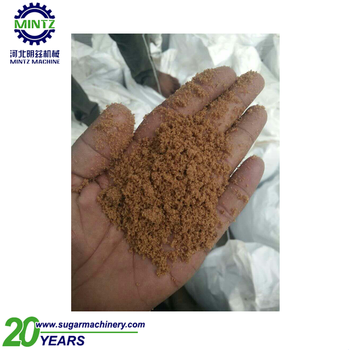 natural brown sugar making machine with low factory price