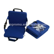 Stadium Seat Cushion with backrest,Foldable Seat Cushion for outdoor,Square chair