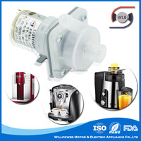 2015 Small electric water pump high capacity OEM pump with high effciency DC motor