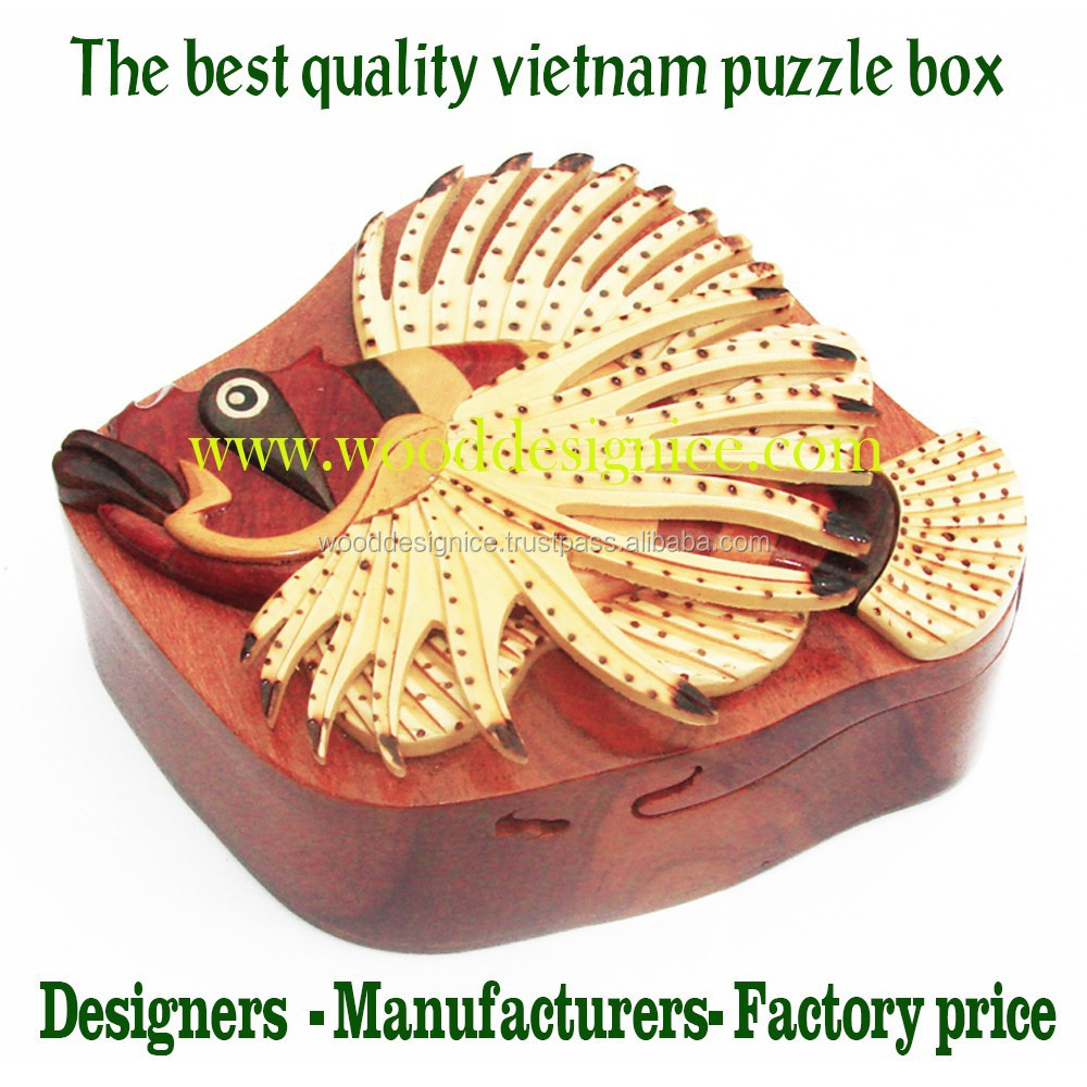 JEWELRY PUZZLE BOX WOOD - VIETNAM FACTORY PRICE