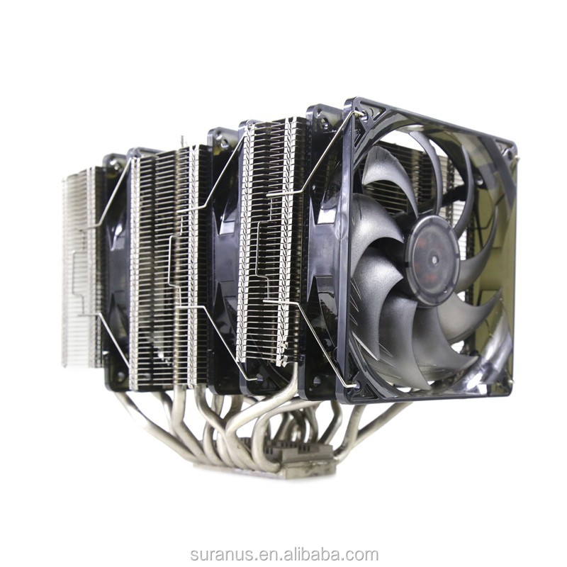Hot SU-ICE800 3 Towers CPU Liquid Cooler Aluminum Heatsink With Fan Size 120mm