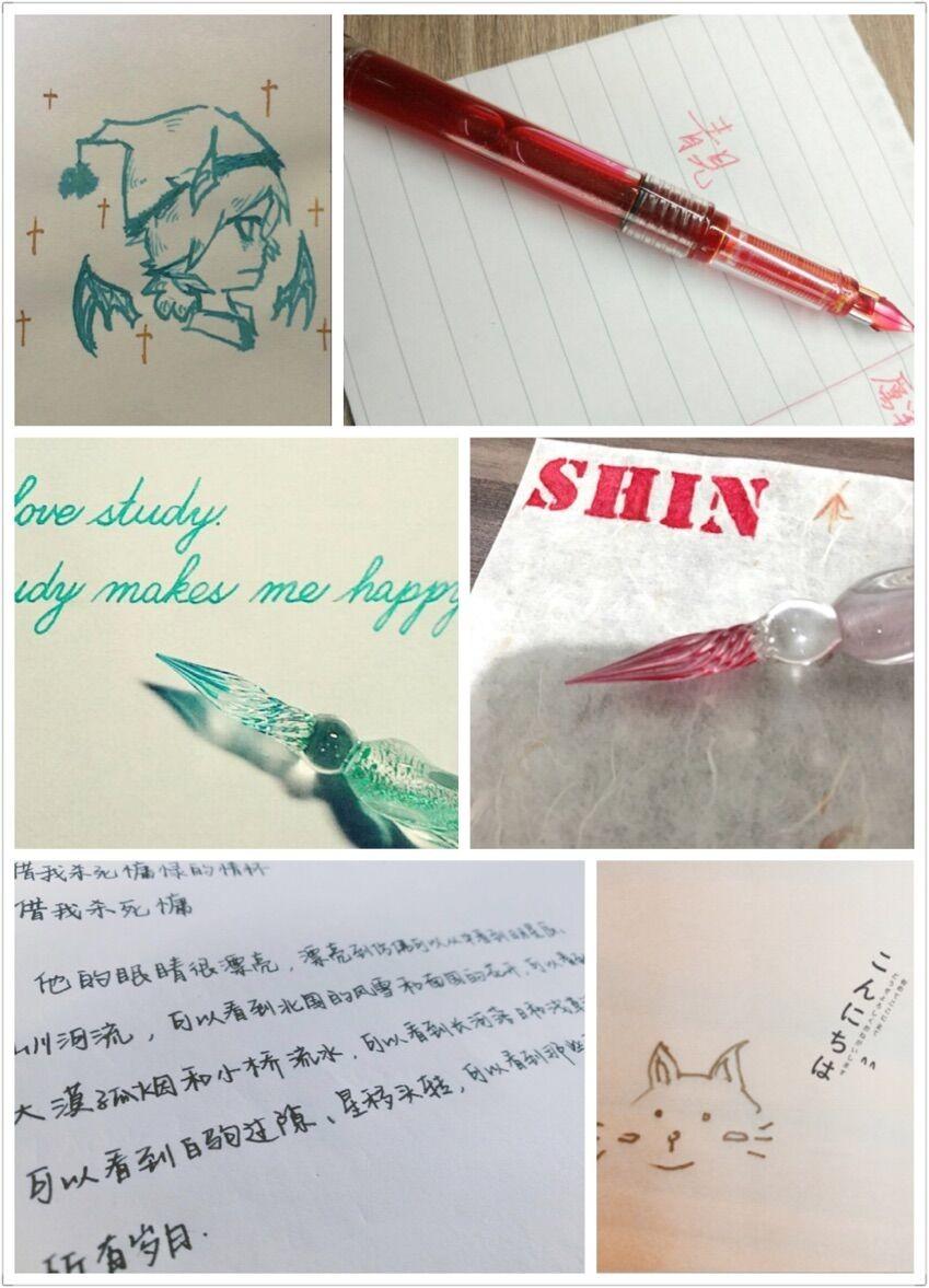 Professional Painting Calligraphy Pen Ink Dip Pen Ink Kit