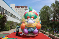 customized new style out giant inflatable vegetable cartoon fruits and vegetables