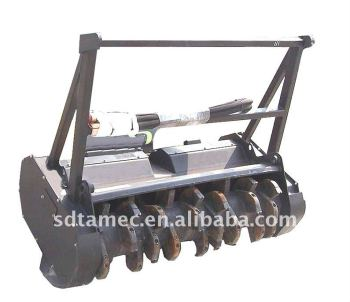 skid loader Forest Mulcher - skid steer mulcher