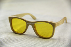 wood night vision glasses glasses/round glasses bamboo/wooden glasses factory
