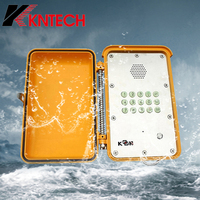 Explosion proof phone KNSP-13 Tamper-resistant comparison water proof telephone