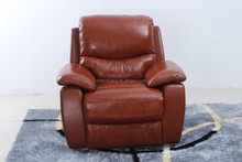 Electric/manumotive leather sofa/first class functional adjustable sofa recliner/high level leather sofa bed