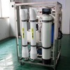 Large capacity water softener treatment plant system