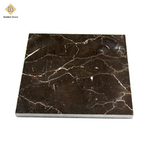 China cheaper 2cm thick 18x26 emperador dark marble tile dubai