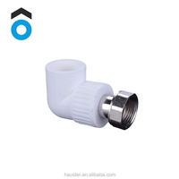 China professional manufacture high quality PP-R copper-plastic elbow PPR pipe fitting