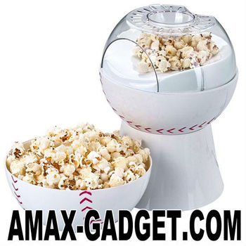KC-1896 corn popper Hot-air baseball 1200W popcorn maker