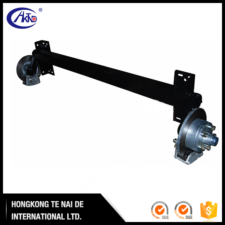 Hydraulic Disc Braked RubberTorsion Axles for Boat Trailer