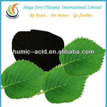 HUMIMASTER Water Soluble Organic Fertilizer Black Humic Acid Powder