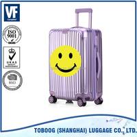 2017 Fashion design 100% Interior Aluminium Trolley System China Supplier Luggage,sky travel Luggage bag