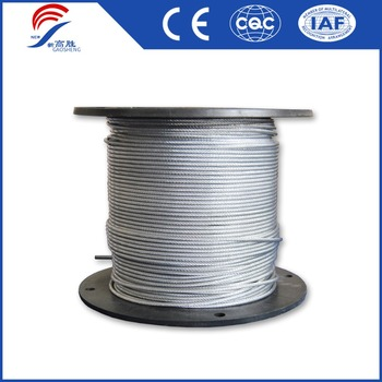 7x7 Steel Wire cable 3/32""