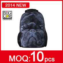 2014 New Product,New Style Trendy College Bags,Felt Animal Patterns