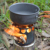 2016 hot new backpacking Portable Wood Stove Stainless Steel Lightweight Outdoor Camping Wood Stove for hiking