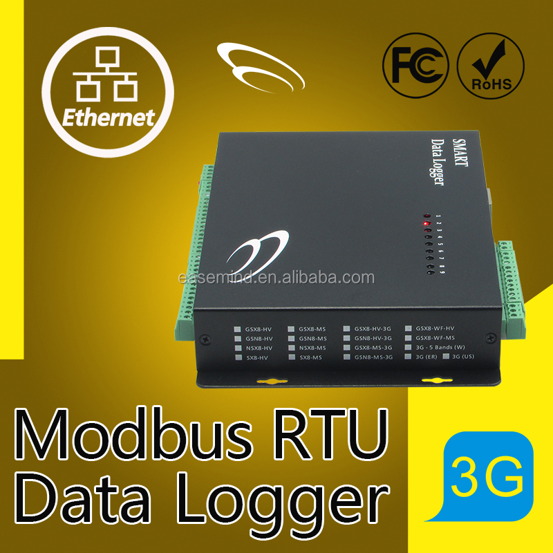 Modbus RTU Data Logger internet security software weather station with rain sensor