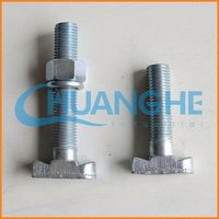 Professional fastener grade 4.6 steel anchor bolts made in China