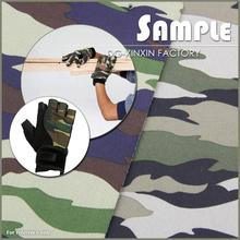 Fancy camo neoprene fabric for glove camouflage