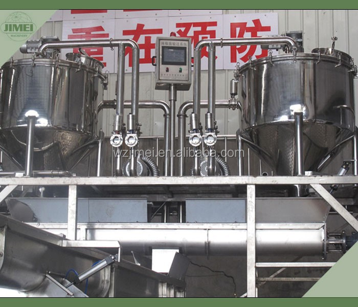 Manufacturer of big capacity chilli Sauce production line