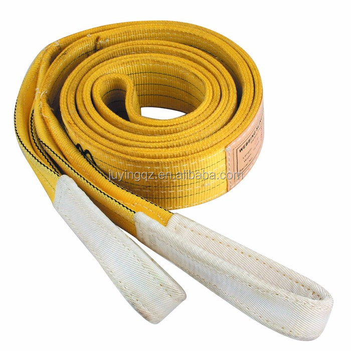 100% polyeaster heavy duty lifting webbing slings