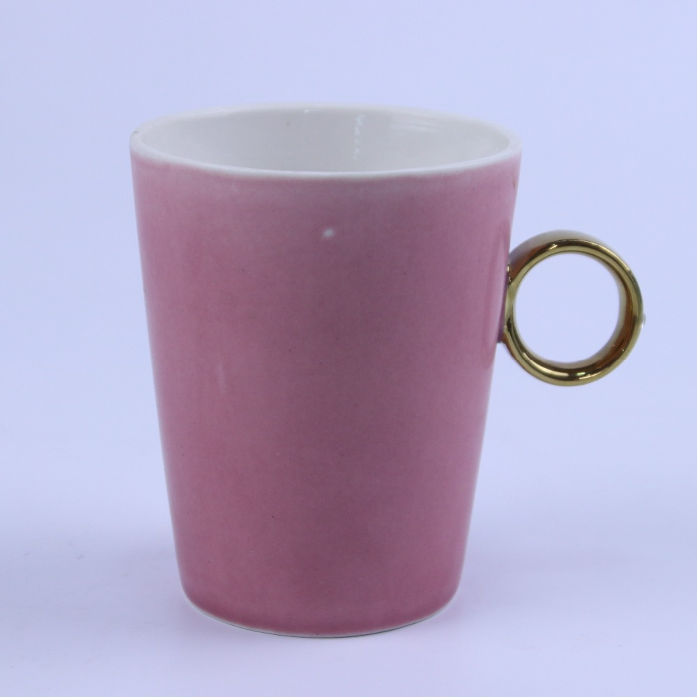 Colour Glaze Ceramic Porcelain Mug Cup,wholesale plain white ceramic cups mugs,mugs with ring handle