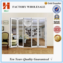 Cost-effective double tempered glazing bi folding door sizes in China