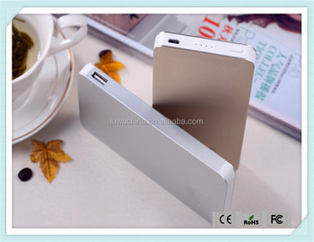 Custom 4000mAh super slim power bank battery charger