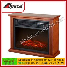 Small electric stove, mini freestanding electric fireplace