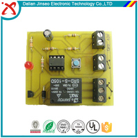 Differential pressure sensor touch switch circuit board