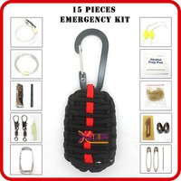 wholesale mini survival emergency pack for climbing