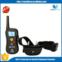 2016 Alibaba Express In Spanish Shenzhen Waterproof Animal Control Device Remote Controll Dog Training Collar Pts008